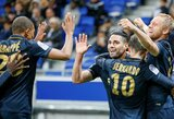 "K.Mbappe ir R.Falcao vedė ""Monaco"" į pergalę prieš ""Lyon"" klubą"