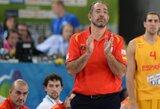 Ispanijos rinktinės vyr. treneris: Lietuva yra tarp pretendenčių laimėti Pasaulio taurę