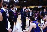 """Už skaudų pralaimėjimą """"Anadolu Efes"""" krepšininkams atsirevanšavusi """"Barcelona"""" išplėšė lemiamas serijos rungtynes"""