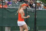 J.Eidukonytė sutriuškino varžovę ir pelnė tris WTA vienetų reitingo taškus