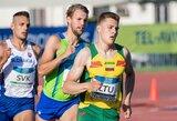 Bėgikas B.Mickus Baltarusijoje finišavo trečias