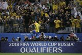 """Neymaras """"nurašė"""" C.Ronaldo su L.Messi ir įvardijo, kurie futbolininkai turėtų geriausiai pasirodyti pasaulio čempionate"""