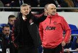 """O.G.Solskjaeras atskleidė, kokios W.Rooney žinutės sulaukė prieš pirmąsias """"Manchester United"""" rungtynes"""