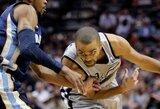 """""""Spurs"""" atsidūrė per žingsnį nuo NBA finalo"""