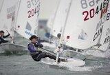Buriuotoja G.Scheidt Europos čempionate užėmė 7-ą vietą