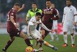 """Net nuostabus M.Pjaničiaus baudos smūgis nepadėjo """"Roma"""" klubui iškovoti pergalės"""