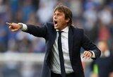 """""""Inter"""" strategas A.Conte tikisi, jog auklėtiniams pavyks atsigauti fiziškai iki rungtynių su """"Barcelona"""""""