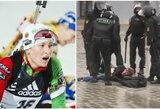 Baltarusijoje žiauriai sumuštas keturiskart olimpinės čempionės brolis