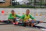 Europos irklavimo čempionatas lietuviams prasidėjo sėkmingai