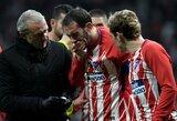 """Danties netekusiam """"Atletico"""" gynėjui D.Godinui atlikta operacija"""
