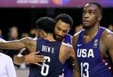 JAV rinktinė po sunkios kovos iškovojo antrą pergalę Amerikos taurėje