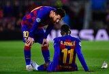 """Galvos skausmas: 125 mln. eurų kainavusio prancūzo dienos """"Barcelonos"""" klube jau suskaičiuotos?"""