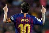 """Koronaviruso testą atlikęs L.Messi pirmadienį prisijungs prie """"Barcelonos"""" treniruočių"""
