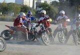 """""""Mildos"""" motobolininkai sezoną baigė sutriuškindami varžovus iš Rygos"""