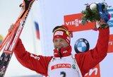 O.E.Bjoerndalenas ir kompanija pasaulio biatlono čempionate iškovojo aukso medalius