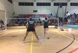 Lietuvos badmintonininkės iškopė į pasaulio reitingo turnyro Kenijoje pusfinalį