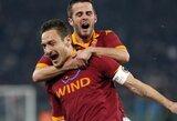 """M.Pjaničius: """"Be F.Totti žaisti tikrai nėra lengva"""""""