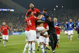 """Atkakliame """"Copa America"""" ketvirtfinalyje Čilė tik po baudinių serijos eliminavo Kolumbiją"""