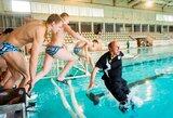 Jaunių žaidynėse rekordus gerino plaukikai ir šauliai
