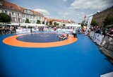 Europos jaunių imtynių čempionate pergale džiaugėsi tik L.Boguševičius