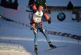 Rusai puikiu finišu išplėšė pergalę pasaulio biatlono taurės etape Prancūzijoje