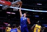 NBA mainai: B.Marjanovičius ir T.Harrisas keliasi į Filadelfiją