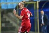 J.Lasickas tenkinosi lygiosiomis, R.Baravykas šventė pergalę Albanijoje