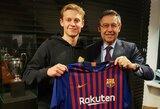 """F.De Jongo mama giria sūnų: """"Svarbu, jog jis yra geras futbolininkas, tačiau svarbiau, kad jis – geras žmogus"""""""
