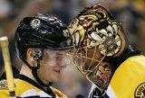 """""""Bruins"""" vartininkas T.Raaskas antrą kartą sezone nepraleido nei vieno įvarčio"""