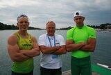 Baidarių ir kanojų irkluotojai tikisi keturių olimpinių kelialapių