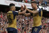 """""""Arsenal"""" klubas nepasigailėjo Prancūzijos vicečempionų"""