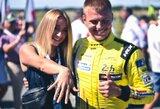 """Palangoje prasidėjo """"Aurum 1006 km lenktynės"""", kvalifikacijos laimėtojas pasipiršo savo mylimajai"""