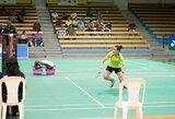 A.Stapušaitytė netikėtai pralaimėjo jau pirmąją dvikovą badmintono turnyre Prancūzijoje