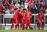 """Vokietija: žaidėjų pranašumą išnaudoję """"Bayern"""" įsitvirtino """"Bundesligos"""" viršuje"""