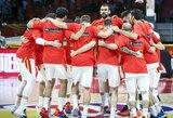 Rungtynių pabaigoje Iraną palaužusi Ispanija tapo C grupės nugalėtoja