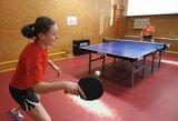 Europos jaunių stalo teniso čempionate geriausiai tarp lietuvių pasirodė K.Riliškytė