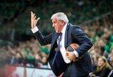 """Ž.Obradovičius: """"Tai buvo puikus mačas prieš puikią komandą"""""""