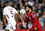 """S.Gerrardas: """"Šiuo metu M.Salah yra geriausias pasaulyje"""""""