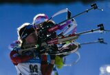 Pasaulio biatlono čempionate lietuvės aplenkė dvi rinktines
