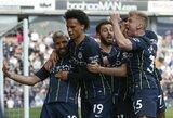 """Pergalę iškovojęs """"Man City"""" sugrįžo į """"Premier"""" lygos viršūnę"""