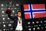 Po dramatiškos kovos paaiškėjo pasaulio šachmatų čempionas