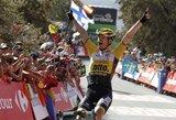 """Olandas laimėjo septintąjį """"Vuelta a Espana"""" etapą, C.Froome'as susidūrė su problemomis"""