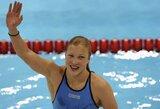 R.Meilutytei nepavyko patekti į 100 m plaukimo laisvu stiliumi pusfinalį