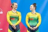 Pasaulio taurės etape Kanadoje – S.Krupeckaitės ir M.Marozaitės bronza