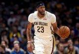 Praėjusią savaitę NBA karaliavo G.Dragičius ir A.Davisas