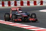 J.Buttonas buvo nepralenkiamas antrojoje Ispanijos GP bandymų sesijoje