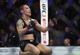 C.Cyborg yra labai laiminga išsiskyrusi su UFC