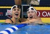 Smūgis R.Meilutytei ir J.Jefimovai: 19-metė amerikietė pasiekė geriausią sezono rezultatą pasaulyje