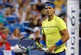 Sensacija: prestižinio turnyro favoritas R.Nadalis krito ketvirtfinalyje