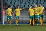 Septynių iš eilės pralaimėjimų serija nutraukta: lietuviai sužaidė lygiosiomis su Azerbaidžanu